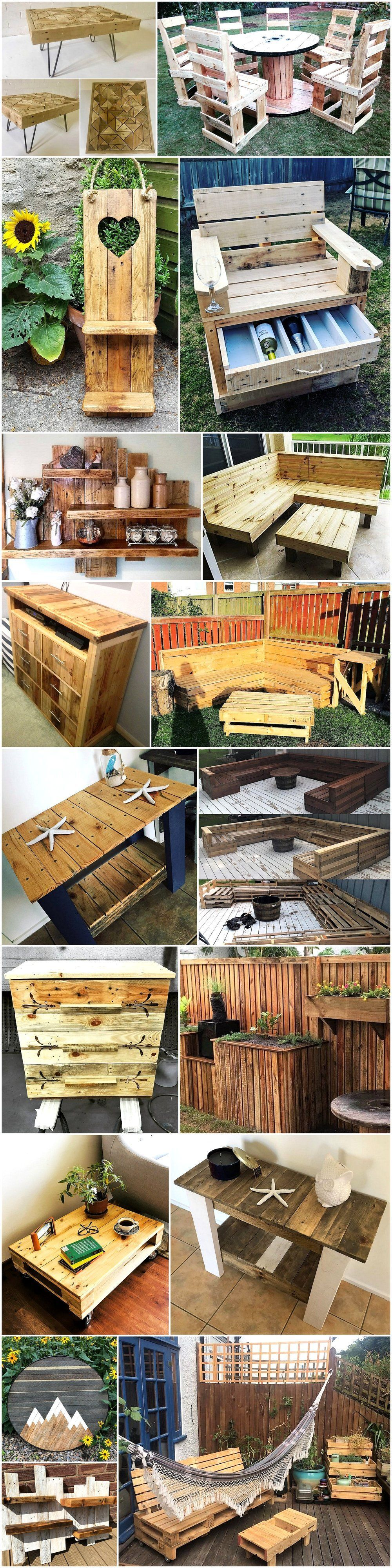 Woodworking Projects   Wood pallets, Pallet crafts, Wood ...