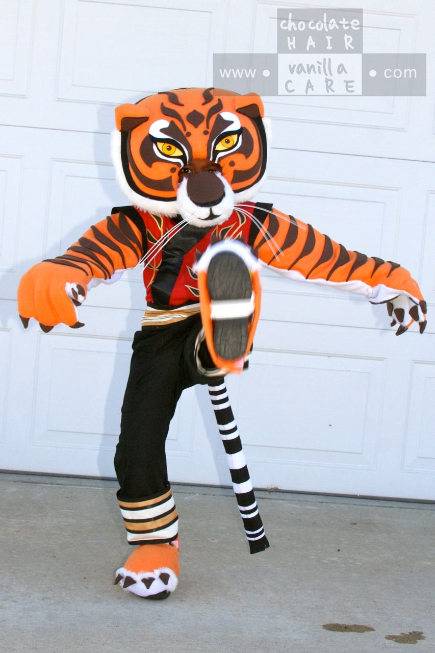 Homemade Master Tigress Costume (from Kung Fu Panda) #HalloweenCostume #DIY  sc 1 st  Pinterest & Homemade Master Tigress Costume (from Kung Fu Panda ...