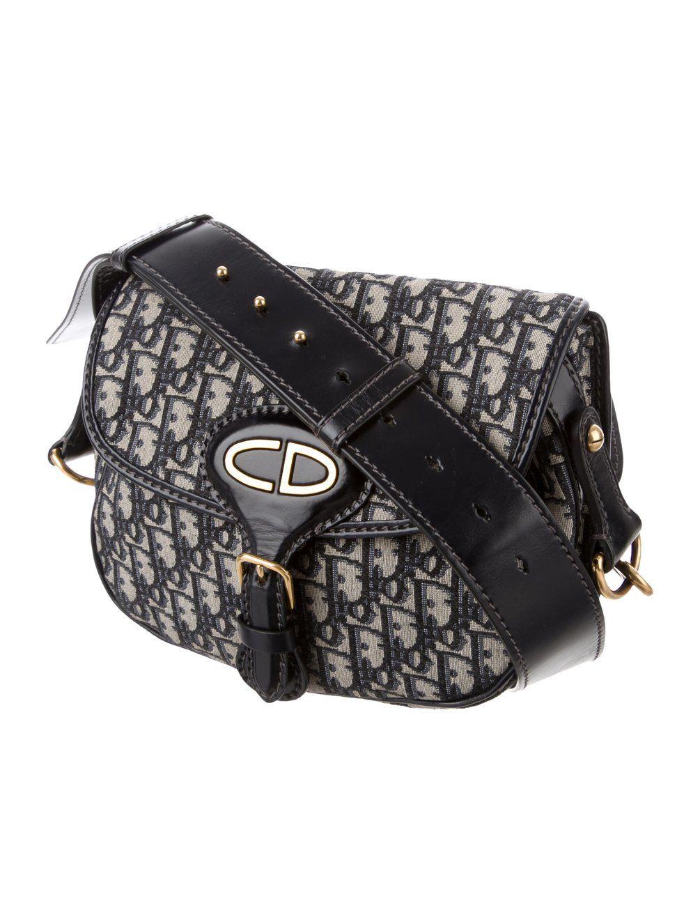 88d2e7272 Christian Dior 2017 Oblique Saddle Bag - Handbags - CHR72376 | The RealReal
