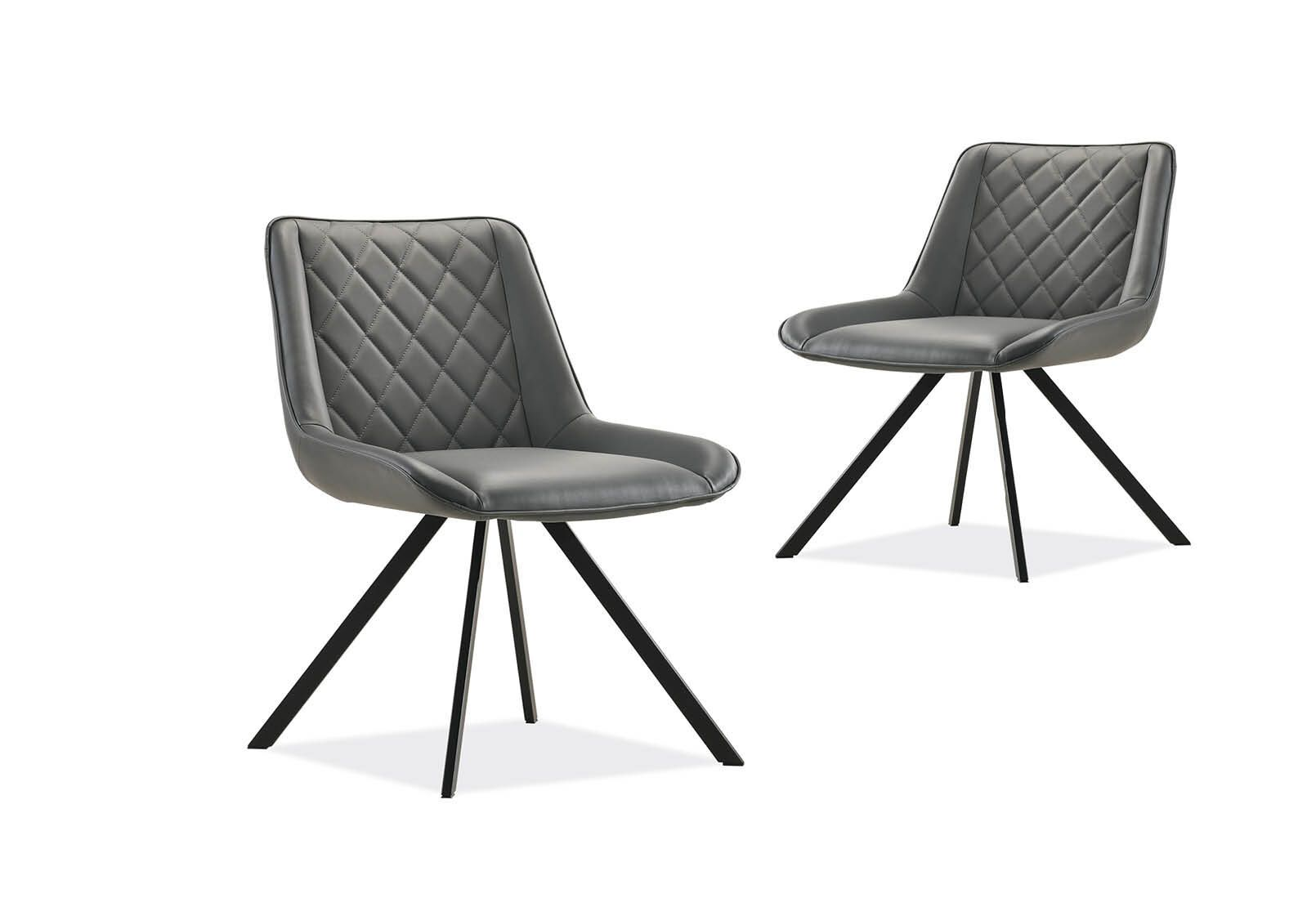 HEREFORD - Set of 2 Grey Dining Chairs by Amart Furniture ...