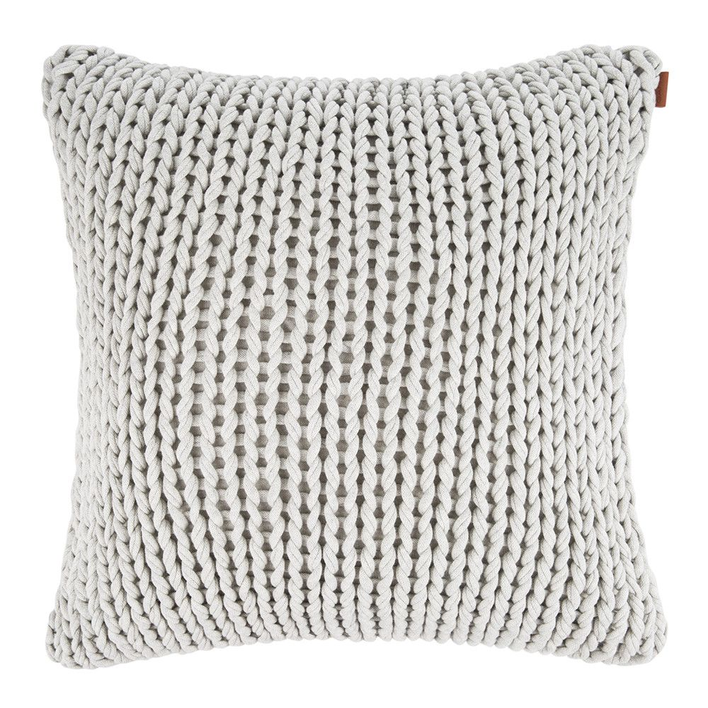 create a cosy interior setting with this big knit cushion from gant beautifully crafted from. Black Bedroom Furniture Sets. Home Design Ideas