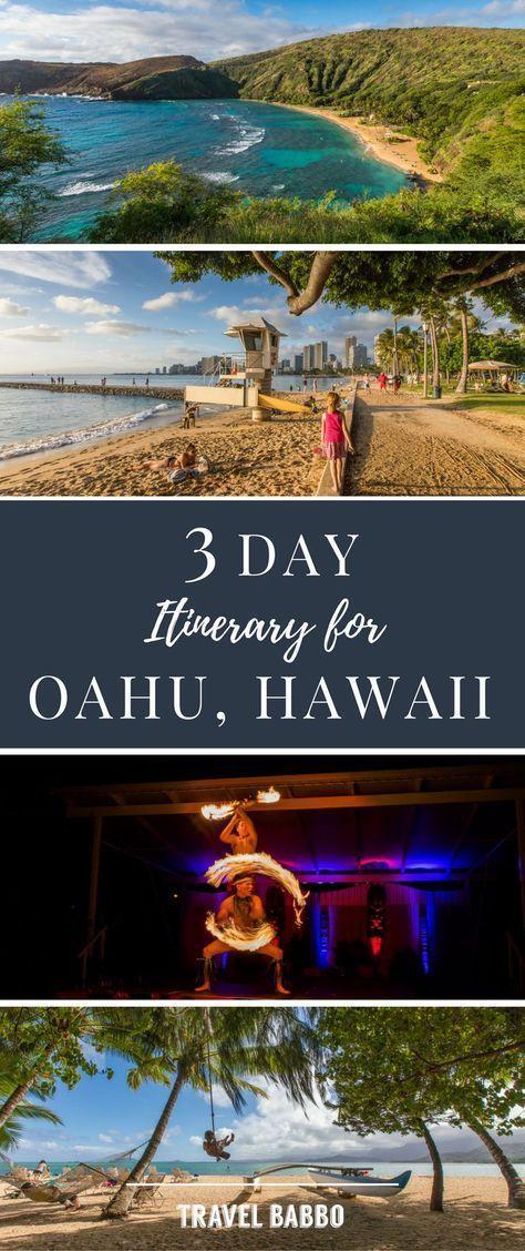 Three Perfect Days On Oahu Hawaii Hawaii Travel