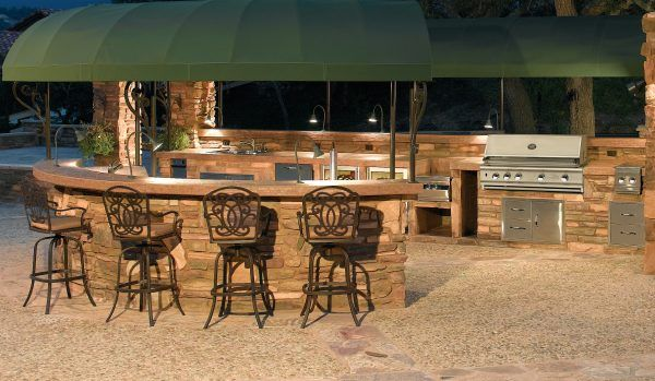 outstanding metal frame for outdoor kitchens with canvas roofing material for outdoor kitchen on outdoor kitchen vintage id=26692