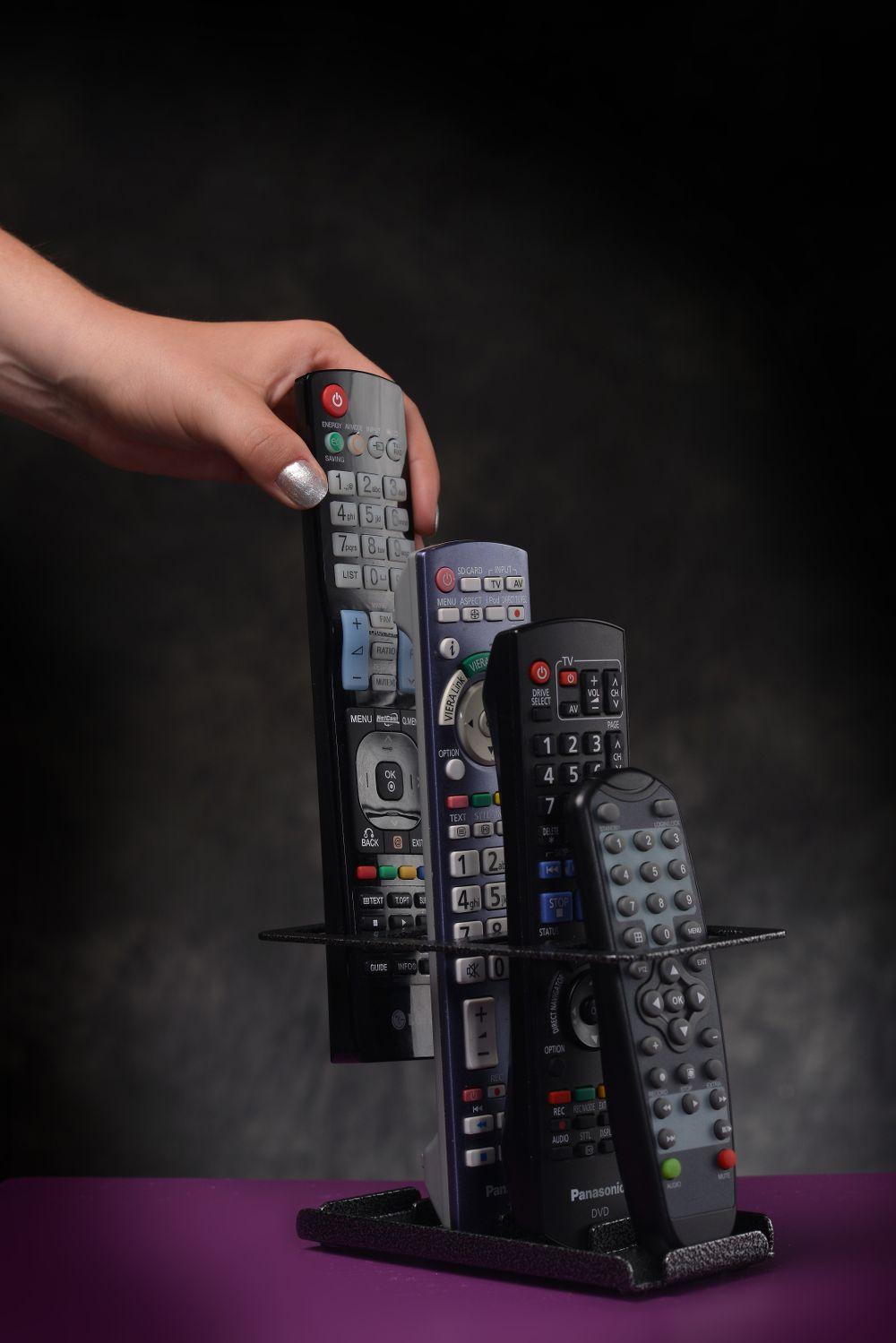 Pratique et fonctionnel. Fini les télécommandes qui trainent !