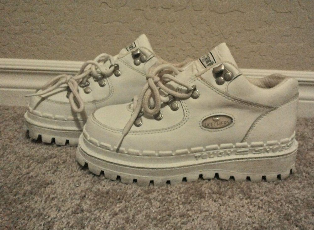 7ea722cda6 WOMEN'S SKECHERS TOUGH SHOES PLATFORM SZ 7 in Clothing, Shoes &  Accessories, Women's Shoes, Athletic | eBay