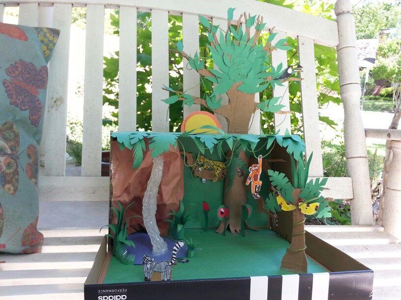 Rainforest Craft Ideas For Kids Part - 20: Rainforest Diorama. Rainforest CraftsKid ProjectsSchool ...
