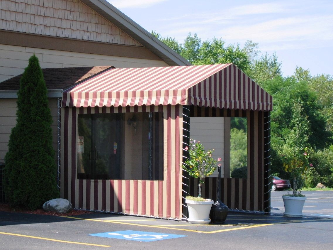 Enclosed Entrance Awnings - Jamestown Awning and Party Tents & Enclosed Entrance Awnings - Jamestown Awning and Party Tents ...
