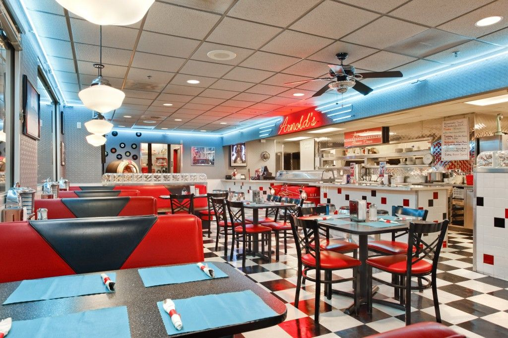the rise of retro; bringing back the 1950s. | more diner kitchen