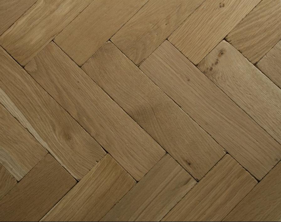 Broadleaf Nude Vintage Oak Parquet Flooring The Ultimate Bare Look