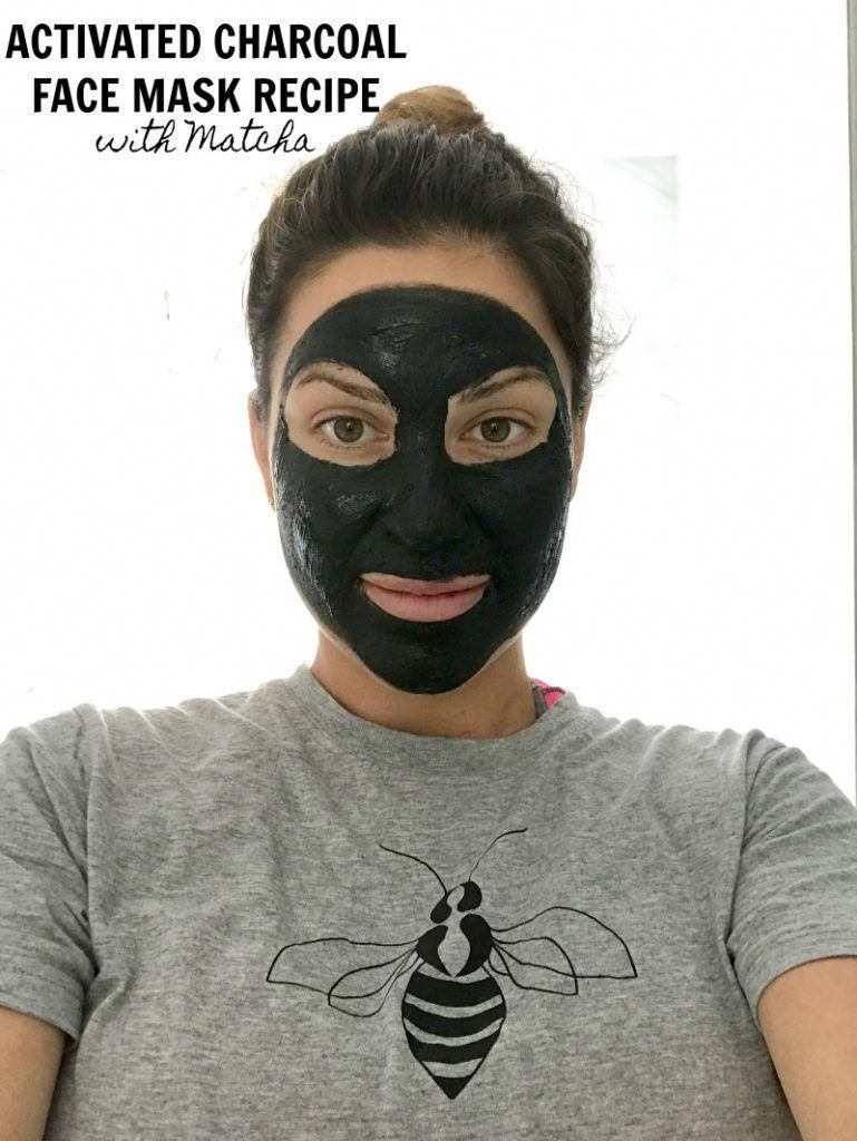 Photo of Activated Charcoal Face Mask Recipe with Matcha and Clay #BestPeelMask