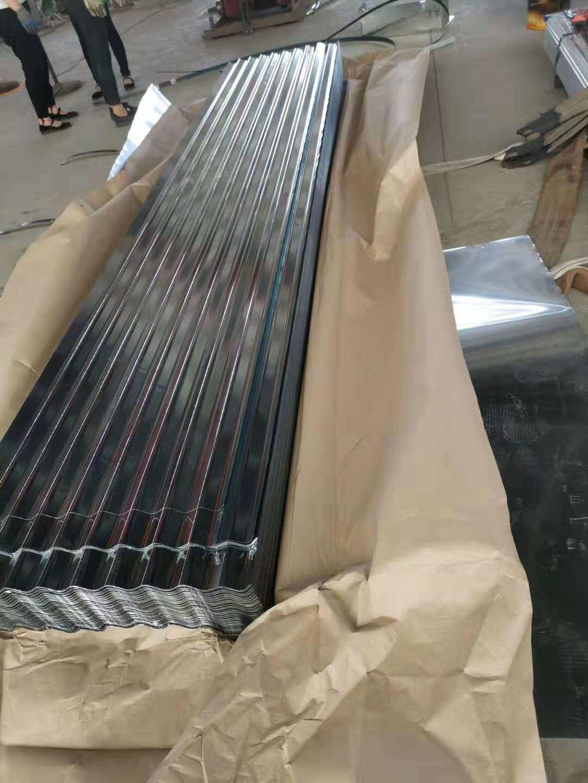 Shinny Surface Corrugated Galvanized Roofing Sheet 0 15 665 Extend 750 Sheet Wechate W 8615254382836 Galvanized Roofing Galvanized Zinc Coating