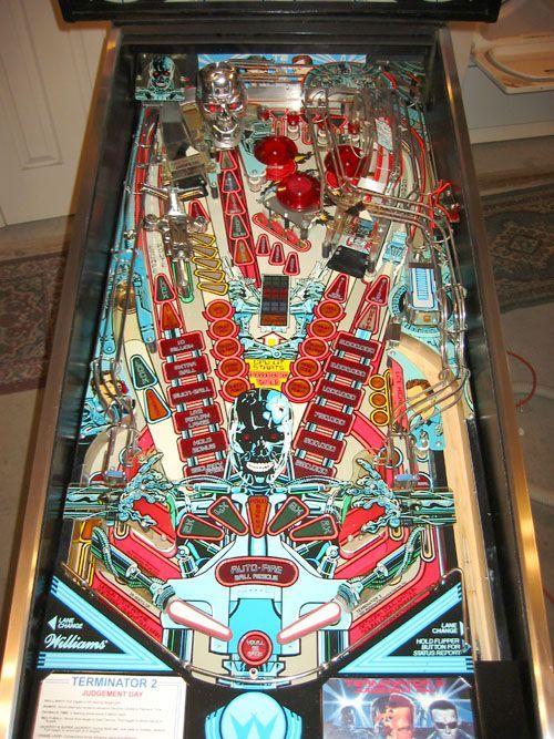 Pinball Machines - Terminator 2 Pinball Machine - The Pinball Company