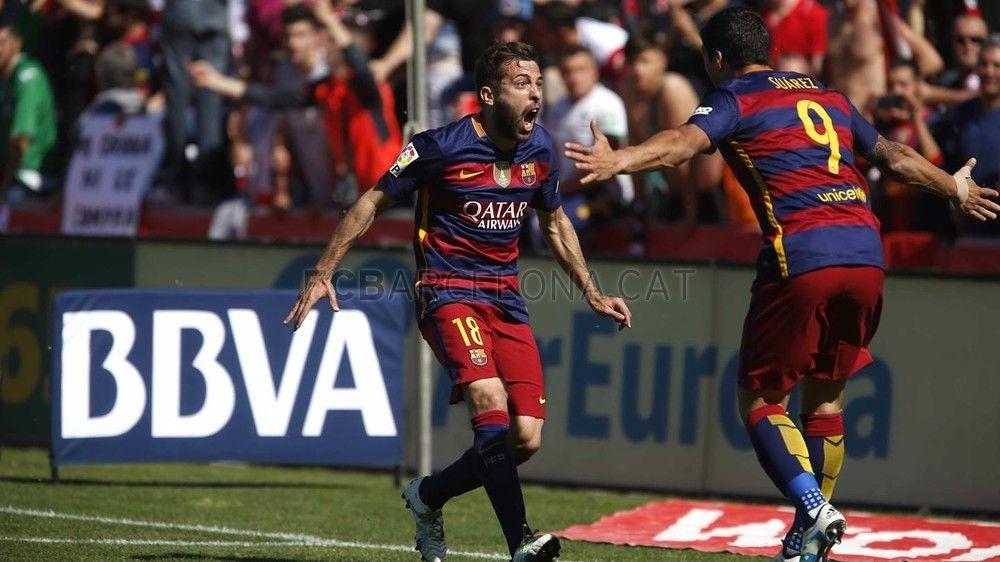 El pichichi's great game! Granada CF - FC Barcelona | FC Barcelona