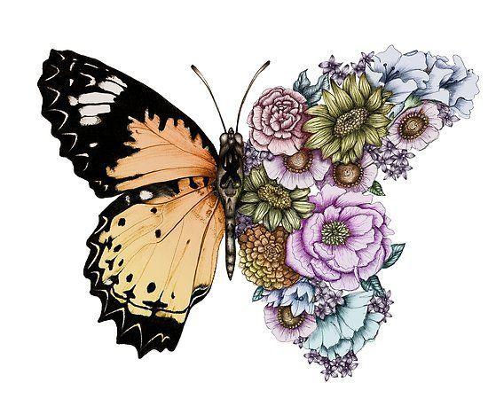 Photo of Schmetterling in voller Blüte II | Poster