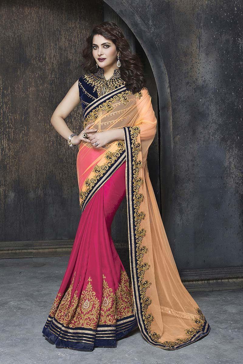 Yellow cotton saree for wedding buy beige net designer saree online in low price at variation huge