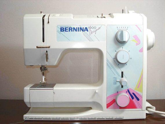 Vintage Bernina 40 Designer Sewing Machine Bernina Love Custom Bernina 1000 Special Sewing Machine