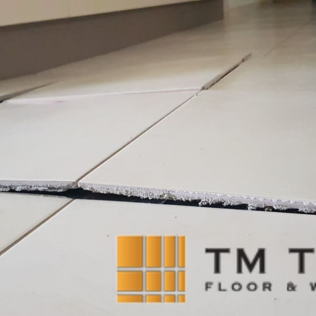Why Do Tiles Pop Up And What Solution You Should Apply This Problem Can Occur Due To Many Reasons And The Most Co Tile Repair Repair Floors Tile Installation
