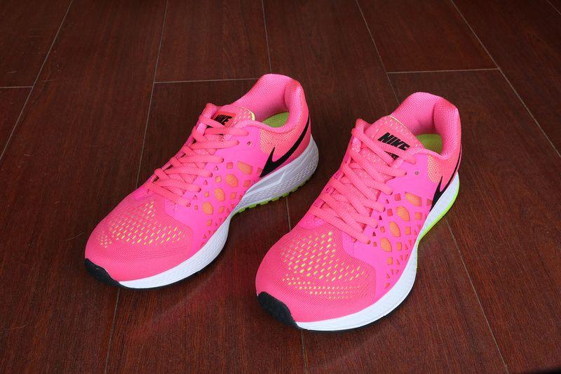 timeless design 21e74 ce649 Over Half Off Womens Nike Air Zoom Pegasus 31 Hyper Pink Black Green