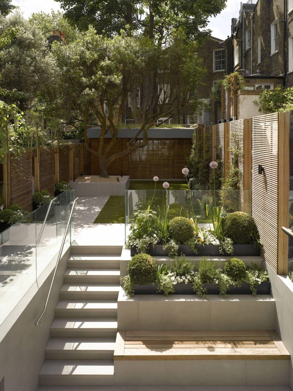 Mackay + Partners private residential sunken garden | 33CS ...