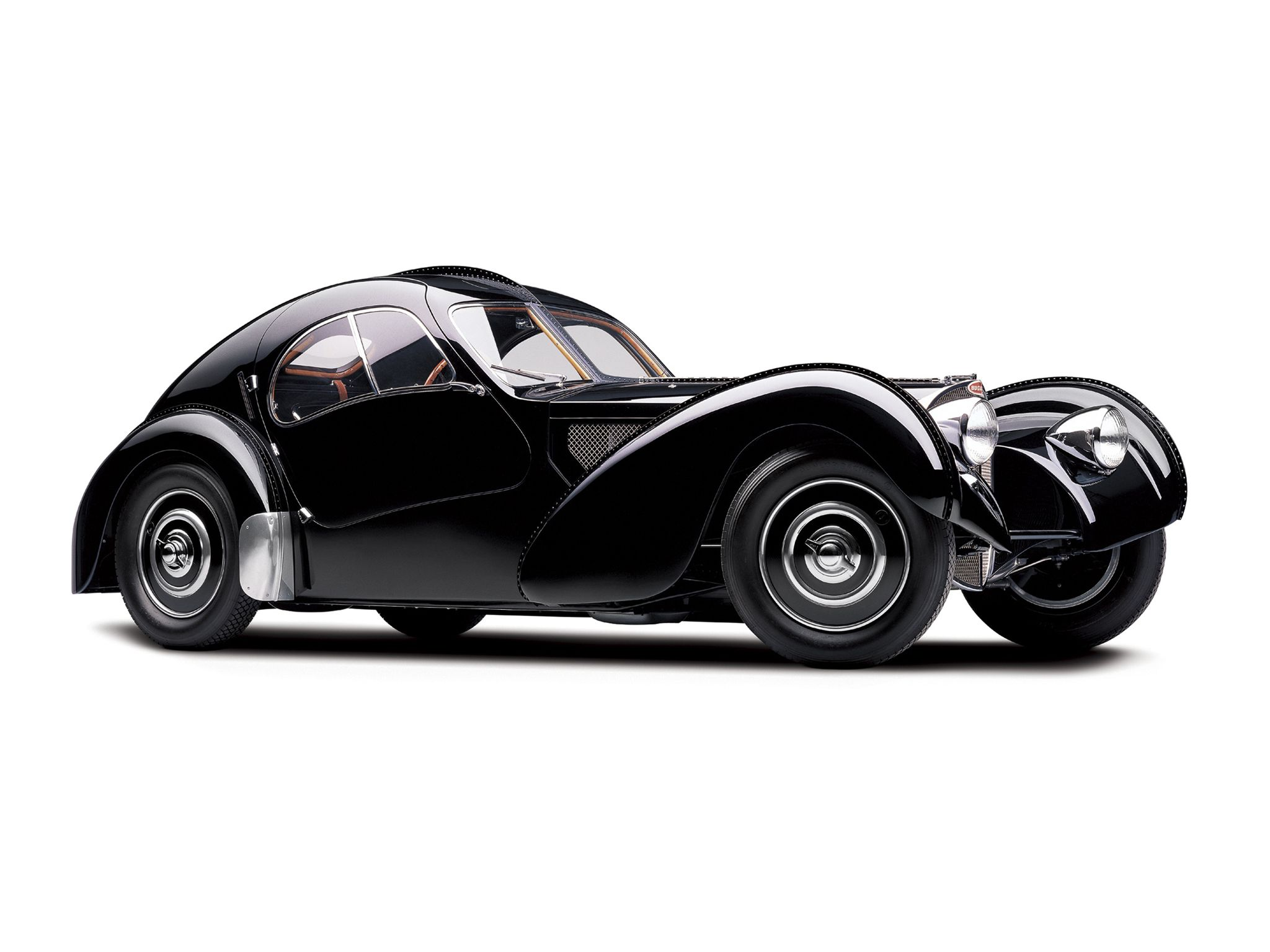 The Bugatti Type 57 And Later Variants (including The Famous Atlantic And  Atalante) Was An Entirely New Design Created By Jean Bugatti.