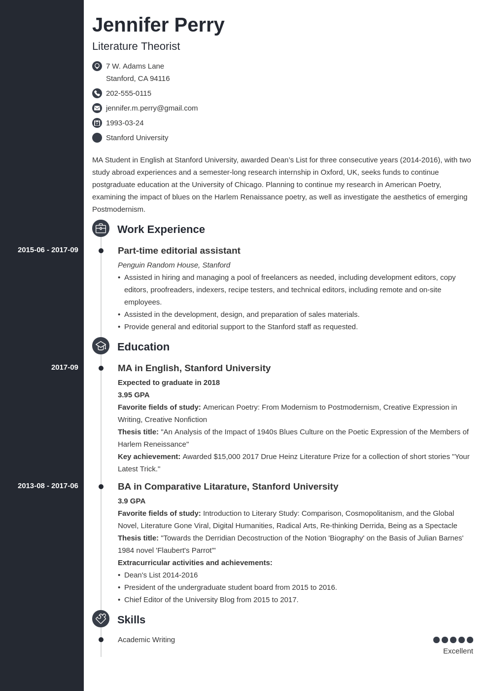 Scholarship Resume Example Template Concept Resume Examples Job Resume Examples Resume Template