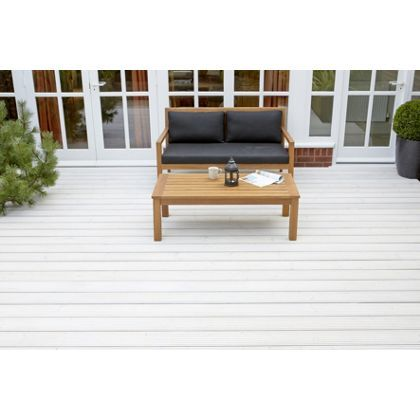 Ronseal ultimate protection decking stain white wash 2 for Garden decking homebase