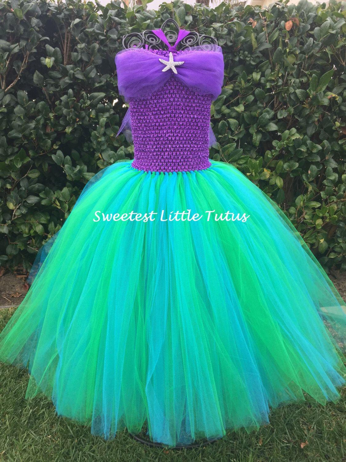 Mermaid Tutu Dress Birthday