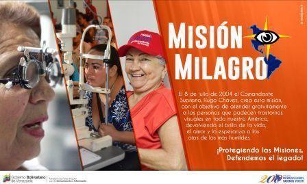 @DrodriguezVen : Justicia Social y Humanista para todos los pueblos fue la premisa que impulsó al CmdteChávez a crear Misión Milagro. https://t.co/FcadORK2cW