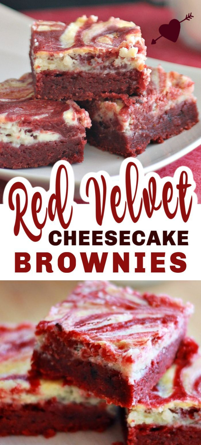 RED VELVET CHEESECAKE BROWNIES These RED VELVET CHEESECAKE BROWNIES are the best moist brownies for