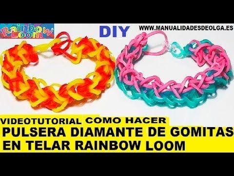 Tutoriel bracelet elastique espanol