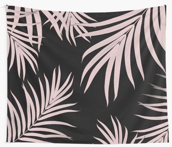 """Palm Leaves Pattern Summer Vibes #5 #tropical #decor #art"" Wall Tapestries by anitabellajantz 