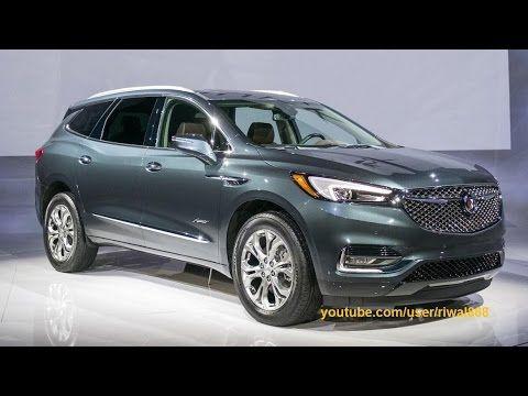 New 2018 Buick Enclave Avenir Reveal Photos Hd Buick Enclave Buick Buick Avenir