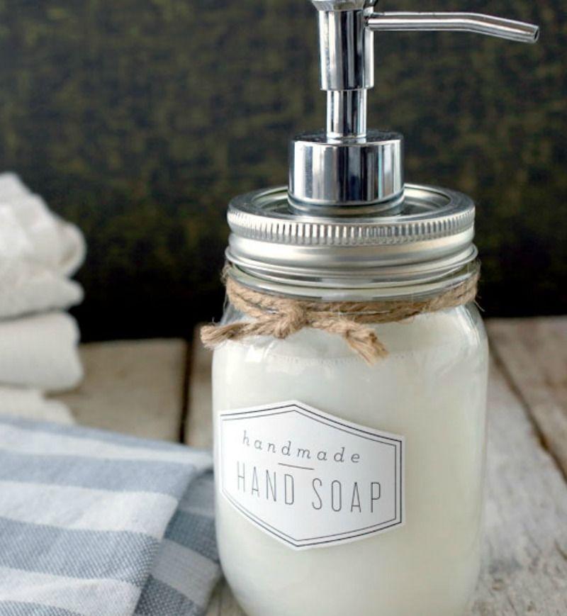 DIY Hand Soap Instructions Recipe Soap, Soap labels