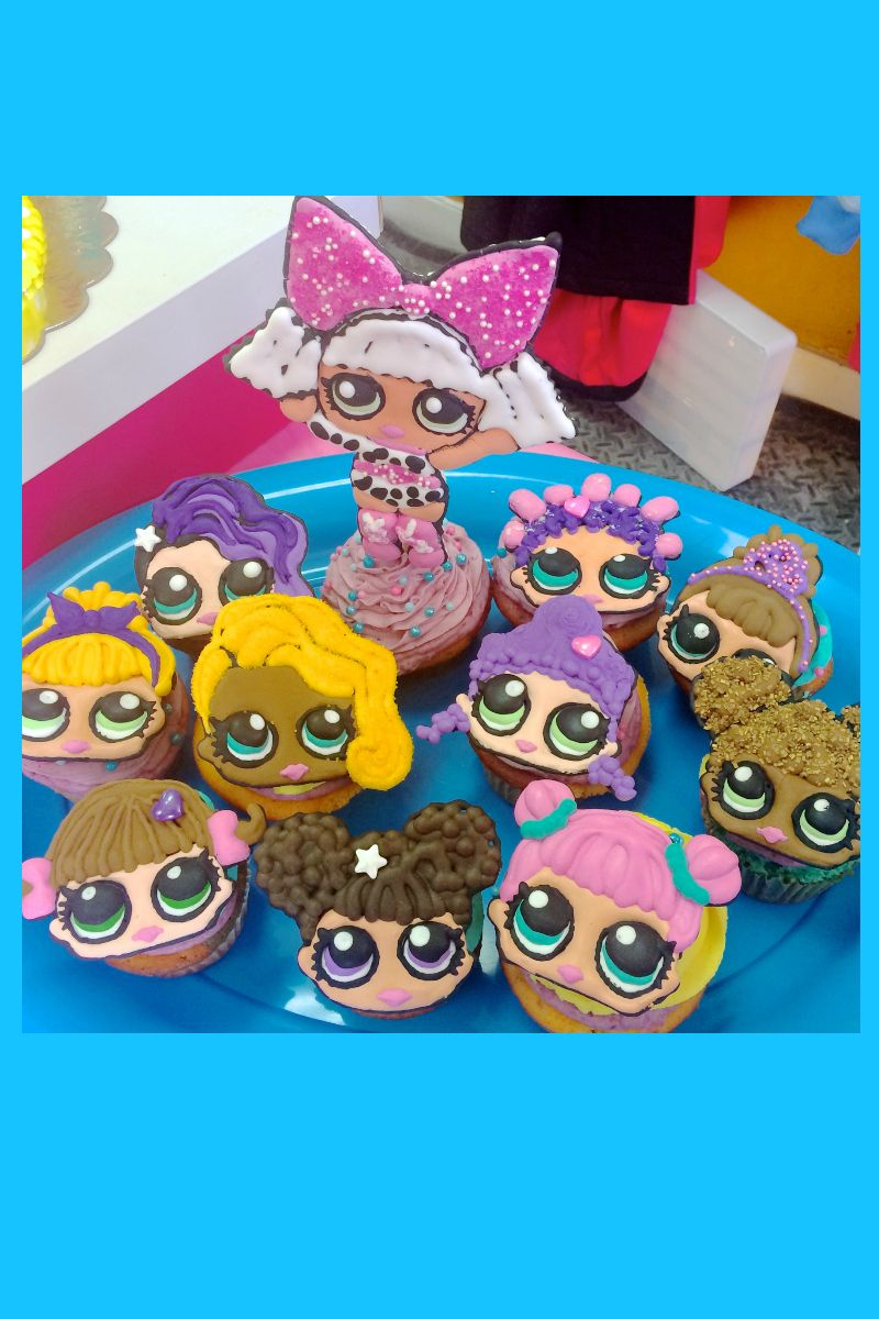 Lol Surprise Dolls Birthday Cupcakes With Diva Calla S
