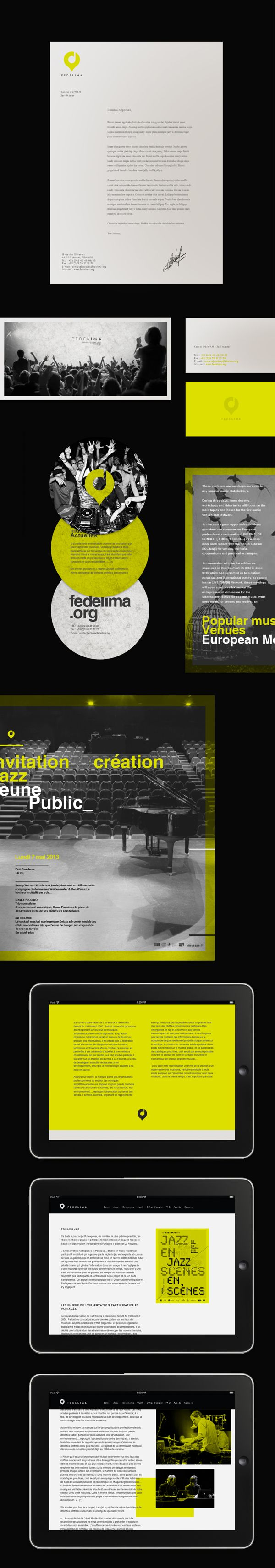Branding | Fedelima Concept by Thomas Le Corre, via Behance
