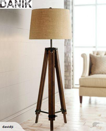 Danikbrand new wooden tripod lamp floor lamp trade me