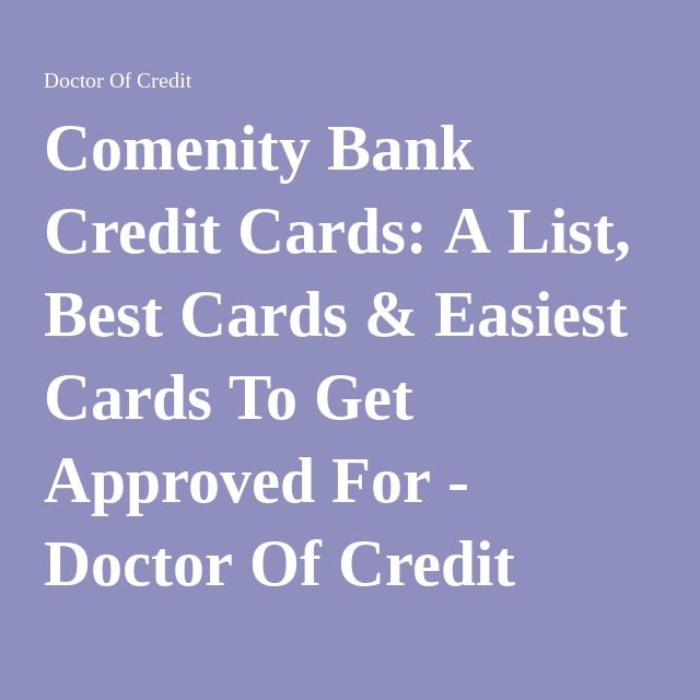 comenity bank easy credit cards
