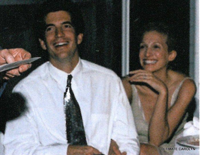 Carolyn and John F Kennedy Jr's Wedding