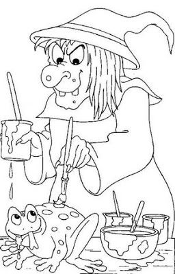 disney halloween characters coloring pages | Free Disney Characters Halloween Coloring Pages Disney ...
