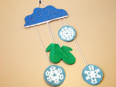 Holiday Decorations | Mittens, Winter and Crafts