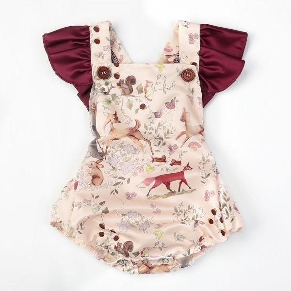 b393b0939d20 offer discounts 42c08 a0d85 cute winter flutter sleeve bow print ...
