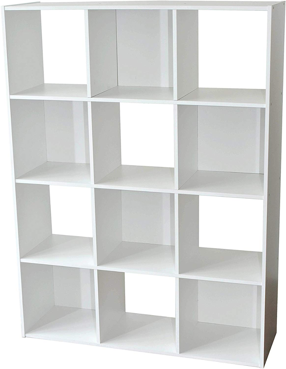 Alsapan Compo Meuble De Rangement 12 Casiers Bibliotheque Etageres Cubes Blanc 92 X 30 X 123 Cm Amazon Fr Cui Meuble Rangement Rangement Bibliotheque Etagere