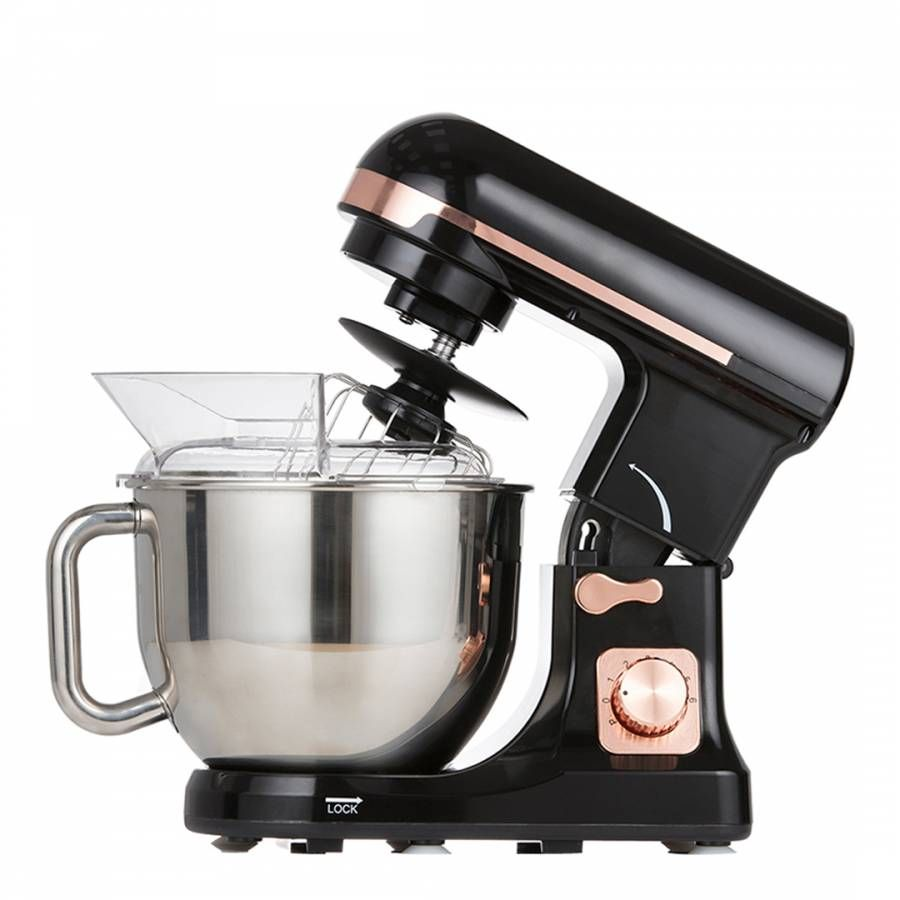 Black & Rose Gold Stand Mixer