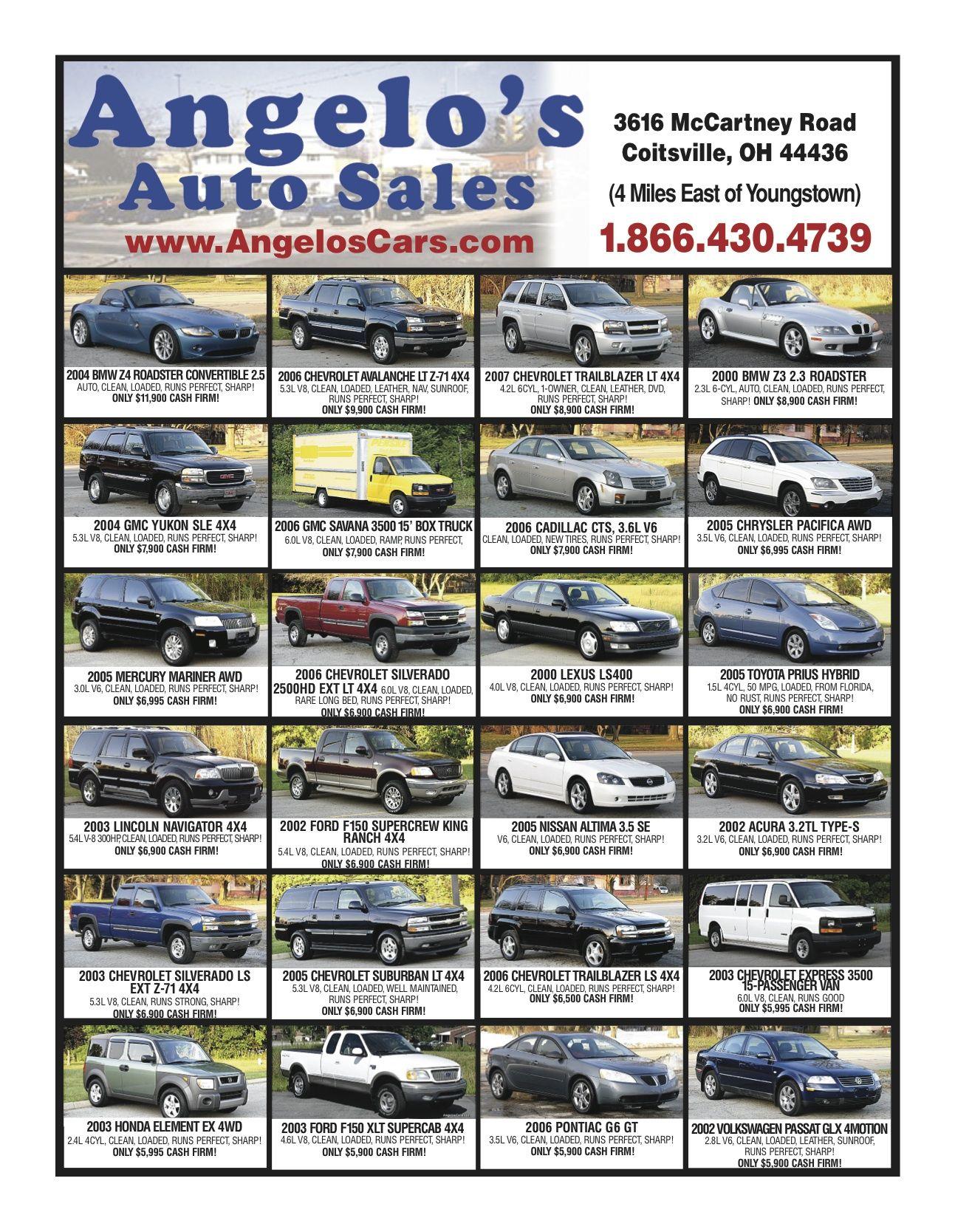 Angelo\'s Auto Sales | Drive Magazine - Issue 1, 2013 | Pinterest ...