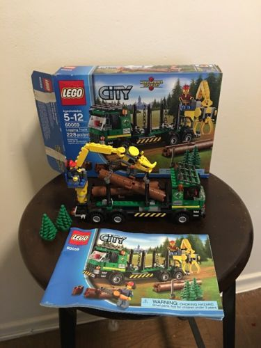 Lego City 60059 Logging Truck With Instructions And A Box Ws Wish