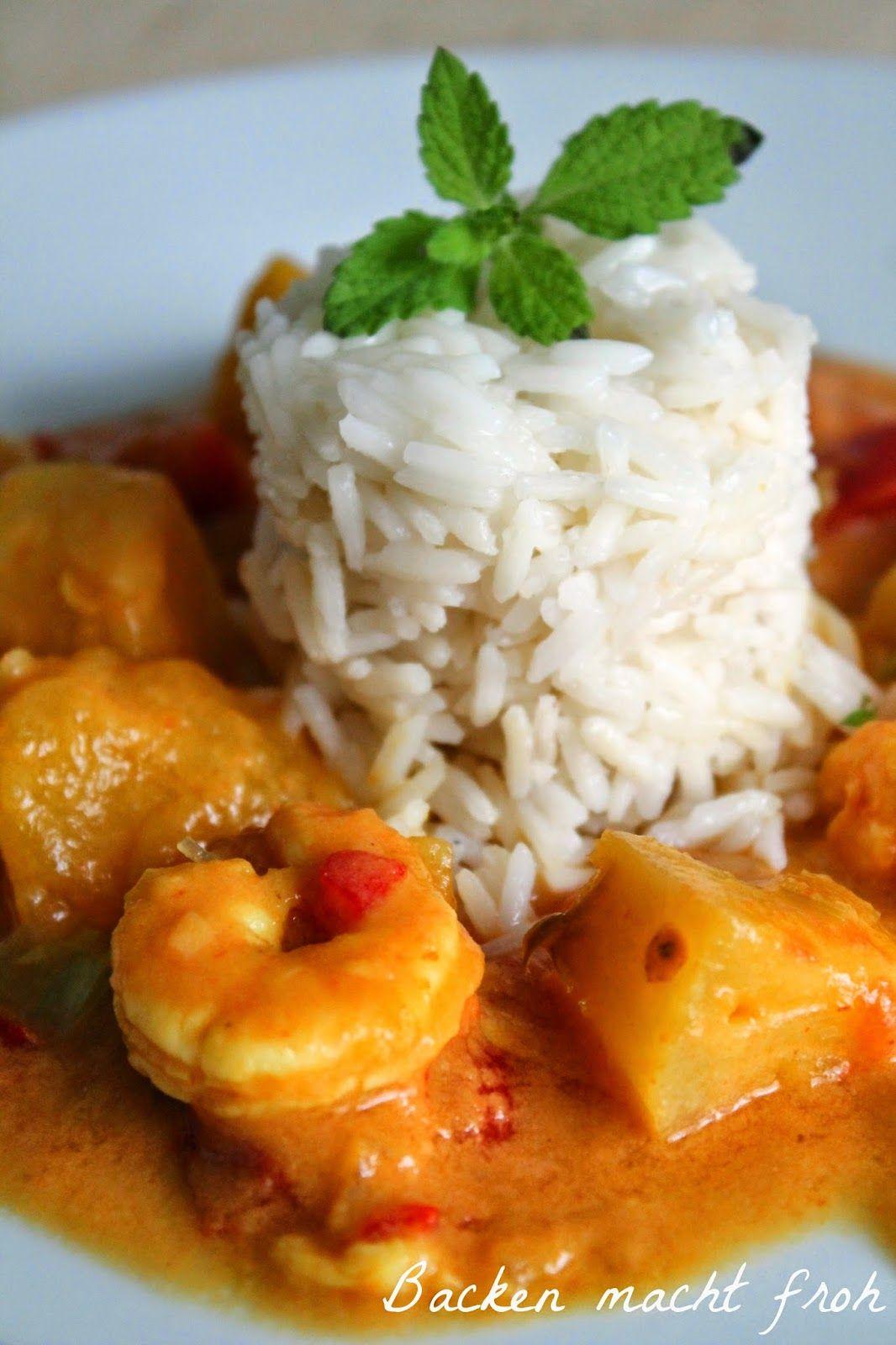 Backen macht froh-Kochen ebenso: yummilicious zur WM: Mangocurry brasil