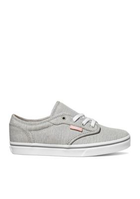 13a40d495f Vans Girls  Atwood Sneaker - Girl Toddler Youth Sizes - Gray Tropical Peach  - 12.5M Toddler