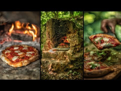 Best Napoli Pizza Oven Carved In Stone Forest Youtube Vegetarian Dishes Stones Recipe Cooking