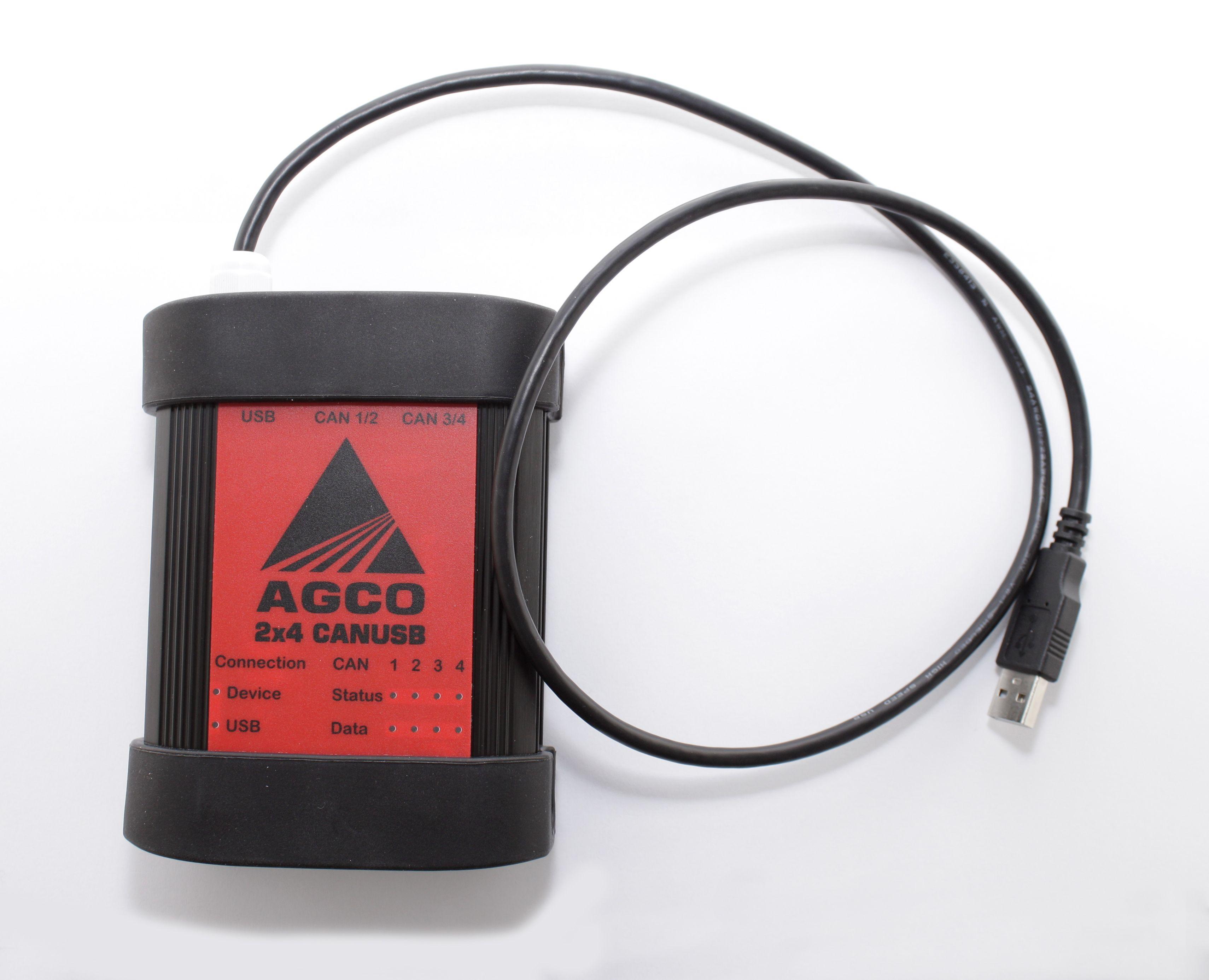 Diagnostic scanner AGCO 2×4 CANUSB | Diagnostic tools | Usb