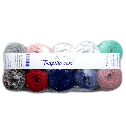 Pack Mini Rollos de trapillo http://trapillo.com/trapillo/258-minirollo-de-trapillo.html